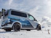 Furgon electric: conceptul Nissan e-NV200 Winter Camper