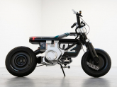 BMW a prezentat o motocicletă electrică rapidă și stilată pentru adolescenți și tineri