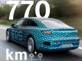 Mercedes-Benz EQS va parcurge 770 km fără reîncărcare conform WLTP