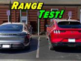 Autoduelul dintre electrovehiculele nobile Porsche Taycan și Ford Mustang Mach-E
