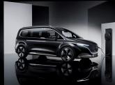 Mercedes-Benz a prezentat conceptul minivanului electric EQT