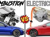 Automobilele electrice folosesc mai puține minerale, decât mașinile pe benzină