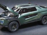 Proiectul de artă: SUV complet electric Honda Ridgeline