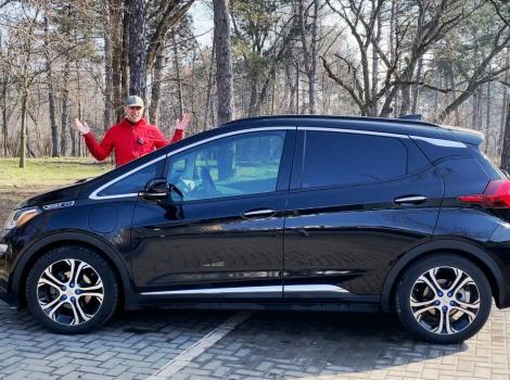 Chevrolet Bolt - незаслуженно редкий в Молдове электромобиль