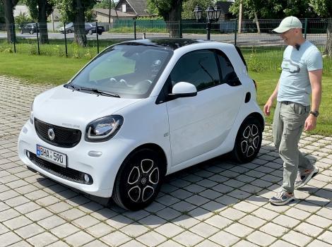 Smart Electric Drive 17.6 kW - чертовски крутой малыш!