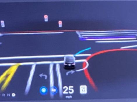 Tesla în sfârșit a lansat mult-așteptata actualizare Full Self-Driving Beta V9