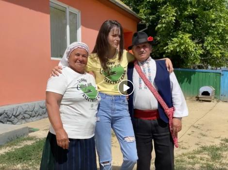Am vizitat celebra bunică Lida ;)