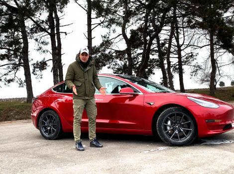 Recenzie Tesla Model 3 Long Range în condiții de iarnă