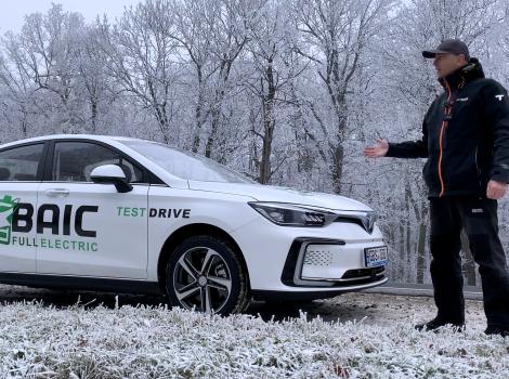 Vehicul electric chinezesc BAIC EU5 - merită cumpărat?