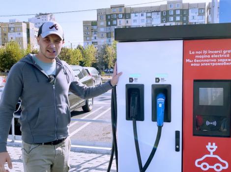 Recenzia statiilor de alimentare pentru masini electrice din Moldova