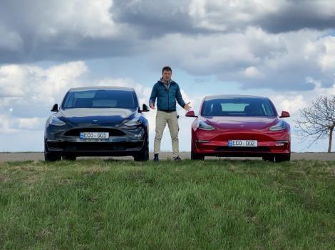 Model 3 sau model Y: care Tesla este mai practic în Moldova?