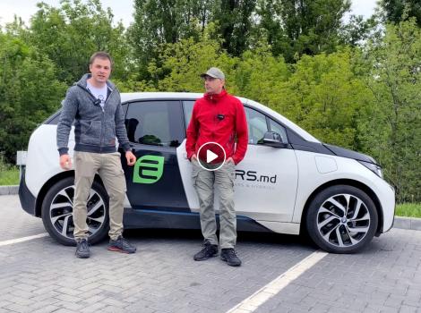 10 000 km pe drumurile moldovenesti cu BMW i3 rex