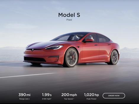 Tesla Model S Plaid a stabilit un nou record pe 1/4 mile: 9,23 secunde