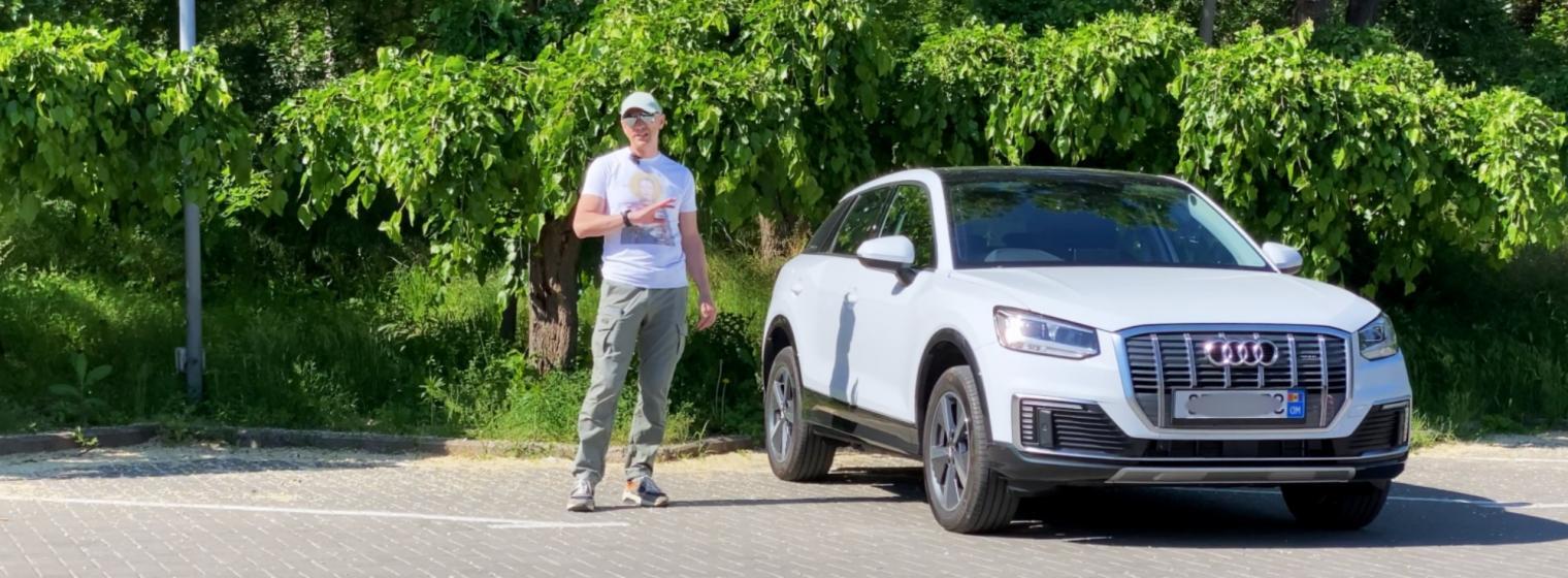Rare crossover electric Audi e-tron Q2L